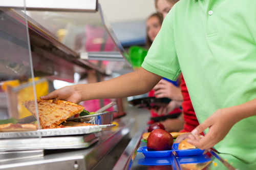 cafeteria school lunch