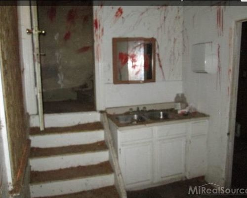 Haunted House For Sale Complete With Blood On The