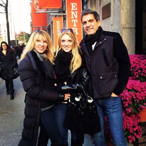 Ramona Singer, Mario Singer and their daughter Avery