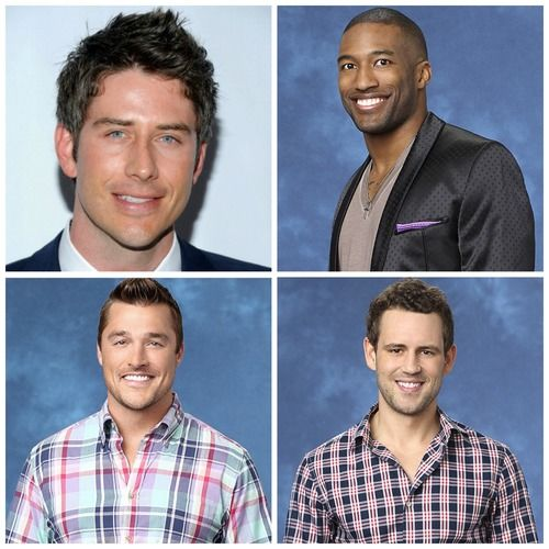 Arie Luyendyk, Chris Soules, Marquel Martin, Nick Viall