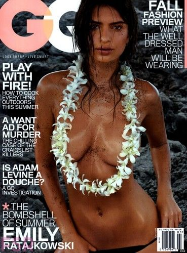 GQ Topless Cover
