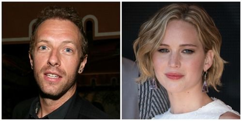 Chris Martin, Jennifer Lawrence