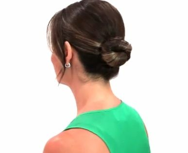 how to make a classic bun, hairstyles, cafemom solutions classic bun