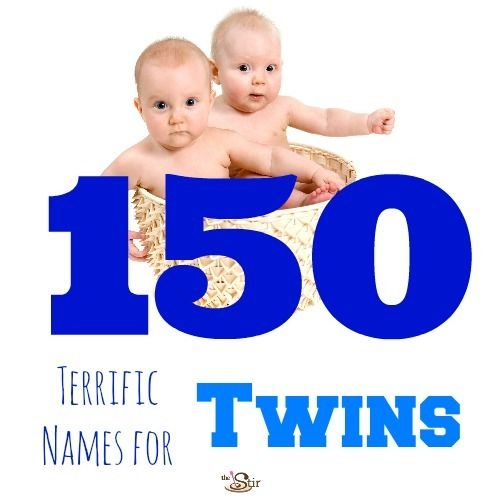 150 Most Popular Names for Twins