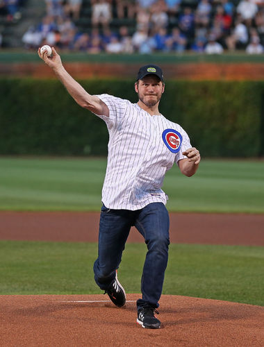 Chris Pratt First Pitch