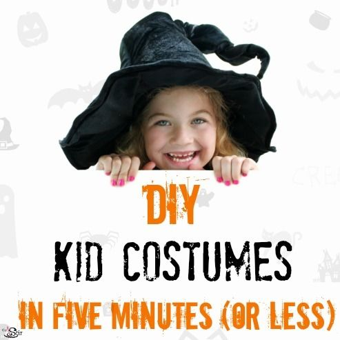 12 halloween costumes moms can make in 5 minutes or less. Black Bedroom Furniture Sets. Home Design Ideas