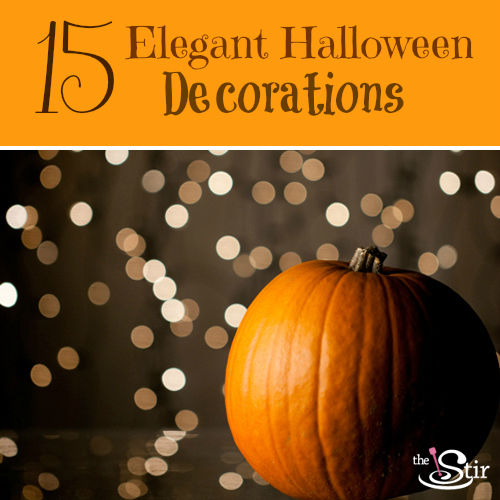 Classy Halloween Decorations: 15 Beautifully Elegant Halloween Decorations (PHOTOS