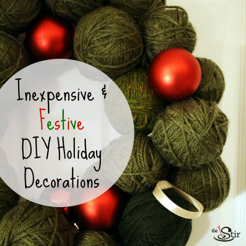 14 Cheap Holiday Decorations You Can Make Yourself (PHOTOS