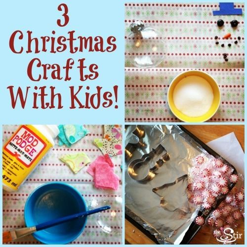 3 Quick Easy Diy Christmas Ornament Crafts For The Whole