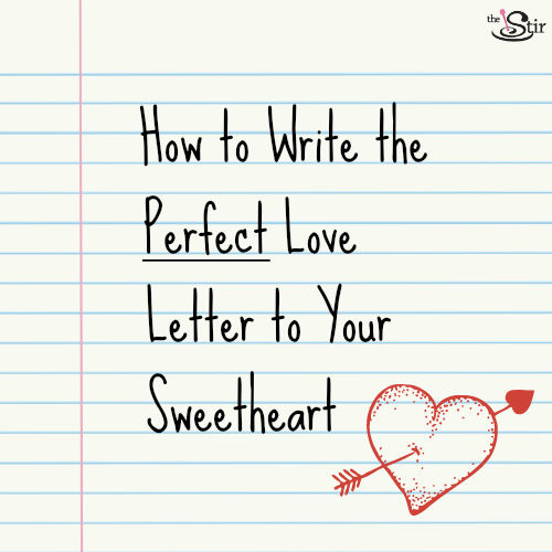 ... Dos & Don'ts for Writing the Most Romantic Love Letter Ever | The Stir
