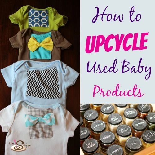 How to upcycle used baby products