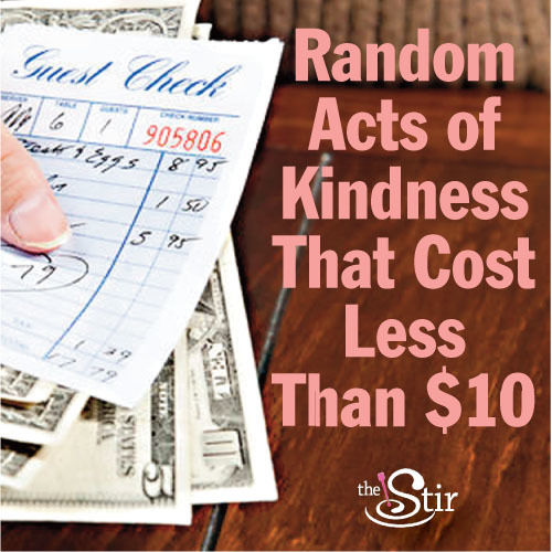 inspiring random acts of kindness