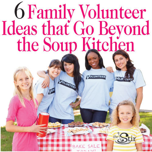 ways to volunteer as a family