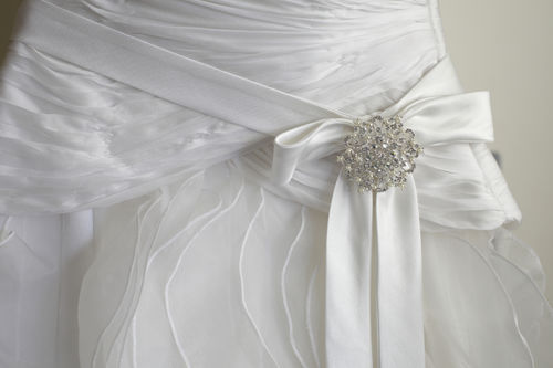 Woman turns wedding dress into beautiful burial gowns for for Wedding dresses idaho falls
