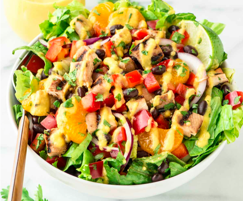 Caribbean Salads Ready To Go: Lazy Mom Meal: Caribbean Chicken Salad With Mango Dressing