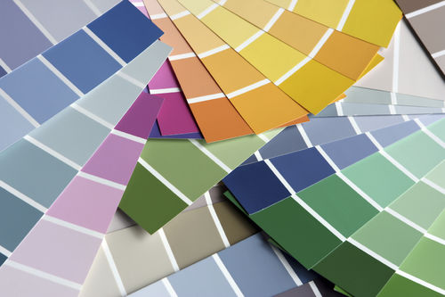 paint chip card crafts