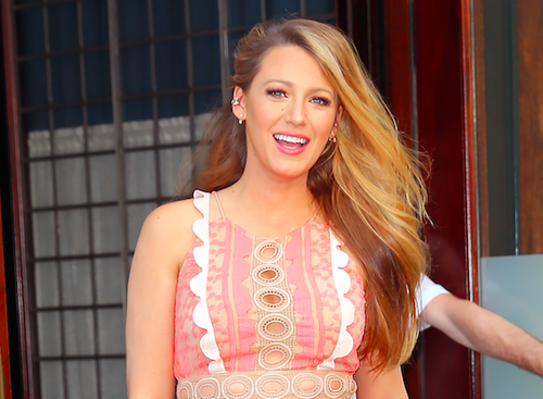 Blake Lively Stuns In 'Cafe Society' Promotion, Talks Second Pregnancy Experience