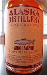 salmon-flavored vodka
