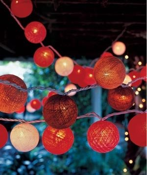 red lanterns lights