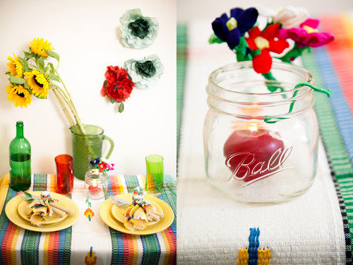 fiesta table setting
