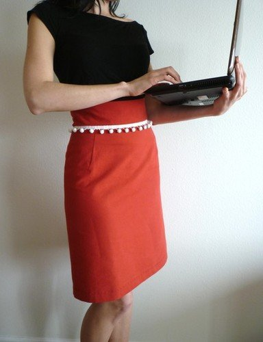mad men style skirt