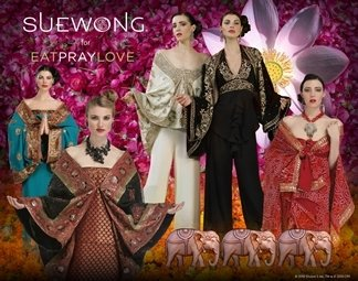Sue Wong Eat Pray Love