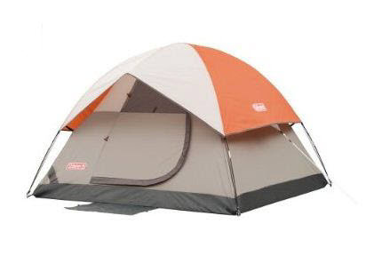 tent family four-man sundome dome