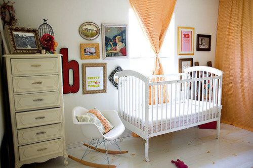 Girls room nursery baby's room