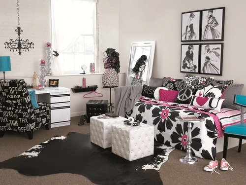 rocker girl's dorm room