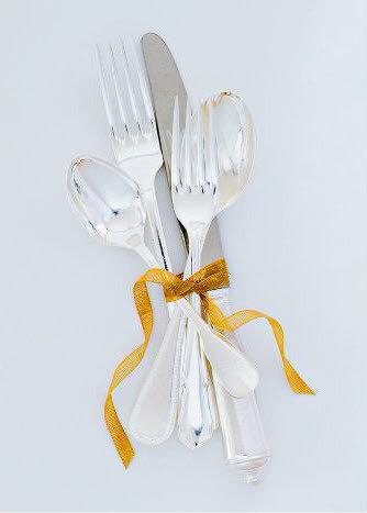 silverware ribbon