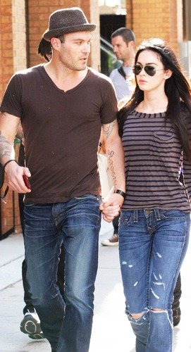 Brian Austin Green and Megan Fox