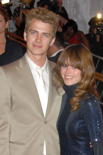 Rachel Bilson with Hayden Christensen