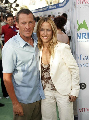 lance armstrong with sheryl crow