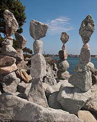 balanced rocks