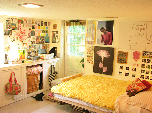 dorm room