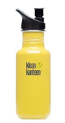 klean kanteen yellow