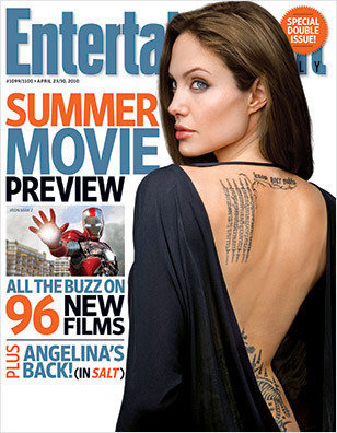 angelina jolie entertainment weekly