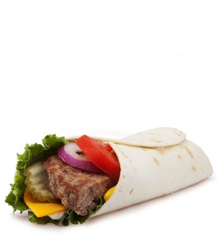 Mcdonalds angus deluxe snack wrap