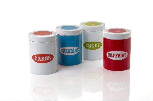 Jonathan Adler collection canisters