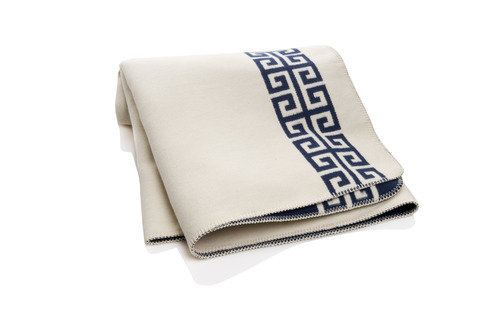 Jonathan Adler HSN blue throw