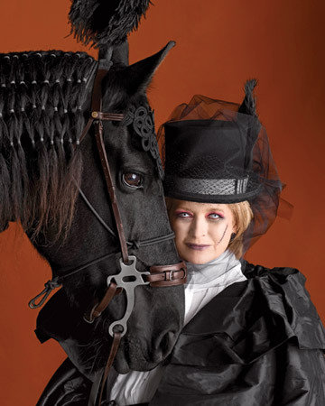Martha Stewart Halloween equestrienne