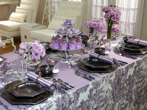 sandra lee tablescape