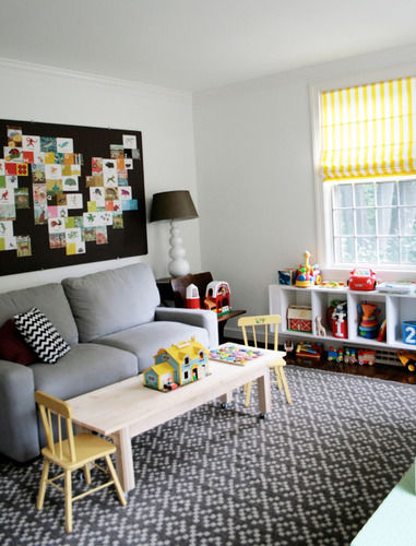 A Stripey Playroom In The South The Stir