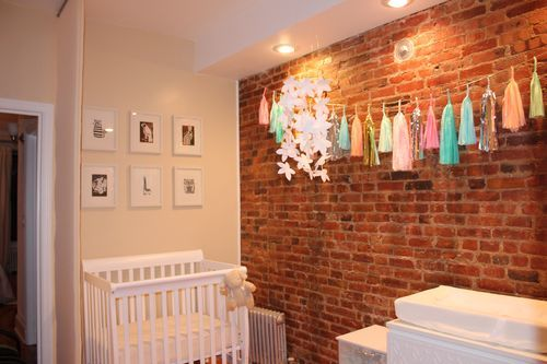 stylish nursery in a tiny space is possible photos the stir
