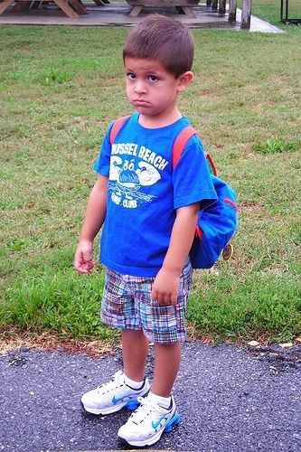 8 Adorably Embarrassing First Day Of School Photos The Stir