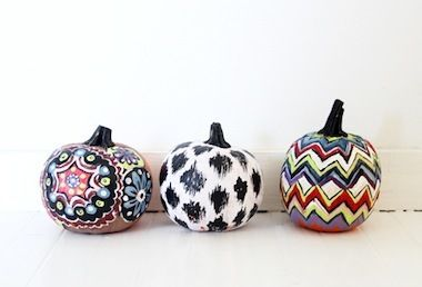6 Super Cool No Carve Pumpkin Ideas The Stir