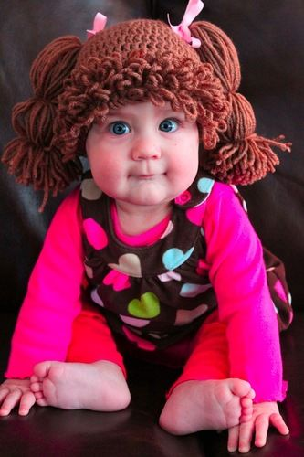 Cabbage Patch Kids Wigs For Babies Turn Your Baby Into A