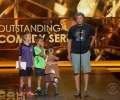 Will Ferrell Kids Emmys Will Ferrell Drags His...