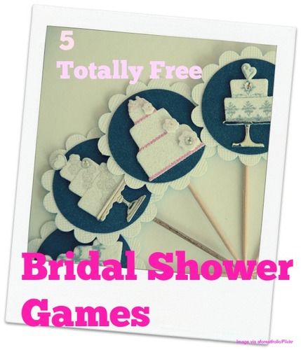 Free Games for the Best Bridal Shower on a Budget   The Stir