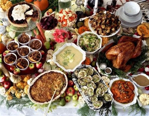 everything you need for a perfect potluck thanksgiving